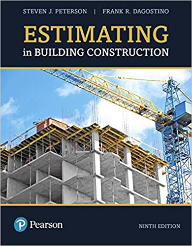 Textbook Estimating in Building Construction 9th ed
